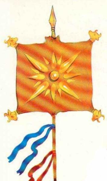 Derafsh Kaviani Original Banner-Vedai & Pre Avesta Era-pre 728BC Iran Flag